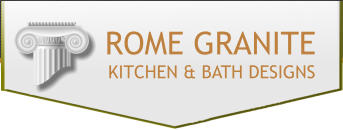 Custom Countertops, Allentown, PA Company Logo Image - Rome Granite and Tile